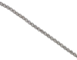 Other 14k White Gold Diamond Tennis Bracelet