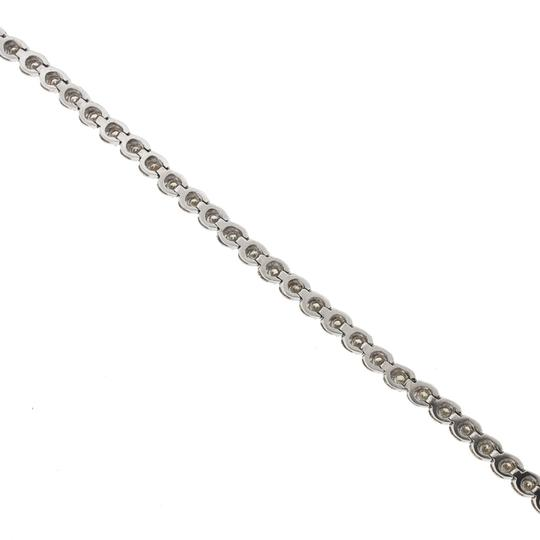 Other 14k White Gold Diamond Tennis Bracelet Image 3