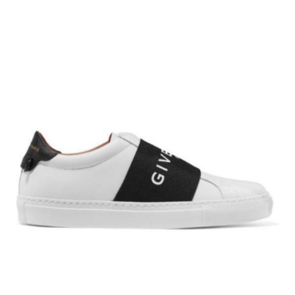 bf3222724 Givenchy Urban Street Logo Leather Sneakers Size US 7 Regular (M, B ...
