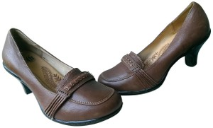 Eürosoft by Söfft Leather BROWN Pumps