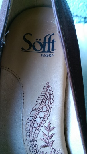 Söfft Leather BROWN Pumps Image 10