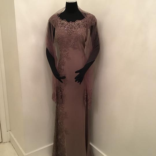 Preload https://img-static.tradesy.com/item/24263684/montage-by-mon-cheri-mocha-crepelace-217948-formal-bridesmaidmob-dress-size-10-m-0-0-540-540.jpg