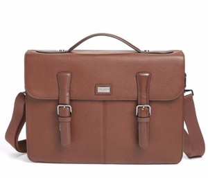 Ted Baker Grained Leather Computer Laptop Bag