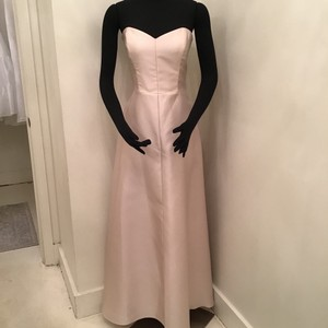 d1adc0acd23 Alfred Sung Palomino Sateen Twill D749 Formal Bridesmaid Mob Dress Size 10 ( M)
