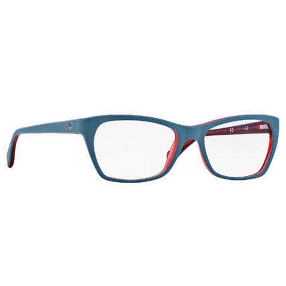 279d5e617b Ray-Ban Black Red Women Rectangular Eyeglasses - Tradesy