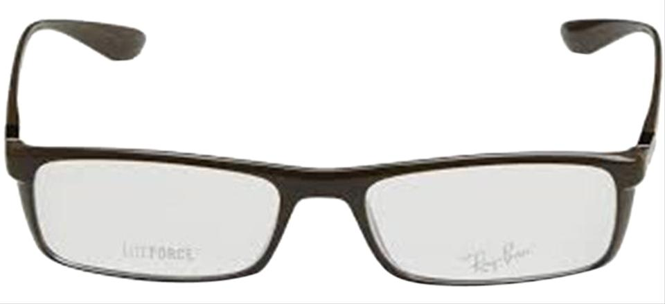 99b7cc3b4f0 Ray-Ban Brown Frame   Demo Lens Unisex Rectangular Eyeglasses - Tradesy