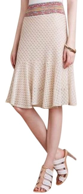 Anthropologie Tan Cecilia Prado Fitted Skirt Size 4 (S, 27) Anthropologie Tan Cecilia Prado Fitted Skirt Size 4 (S, 27) Image 1