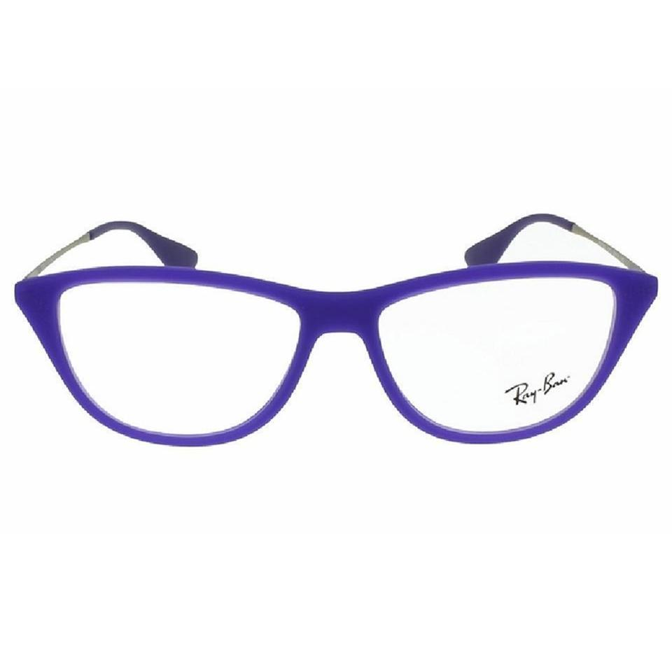 cd42e12ac3 Ray-Ban Violet Frame   Demo Lens Women Cat Eye Eyeglasses - Tradesy