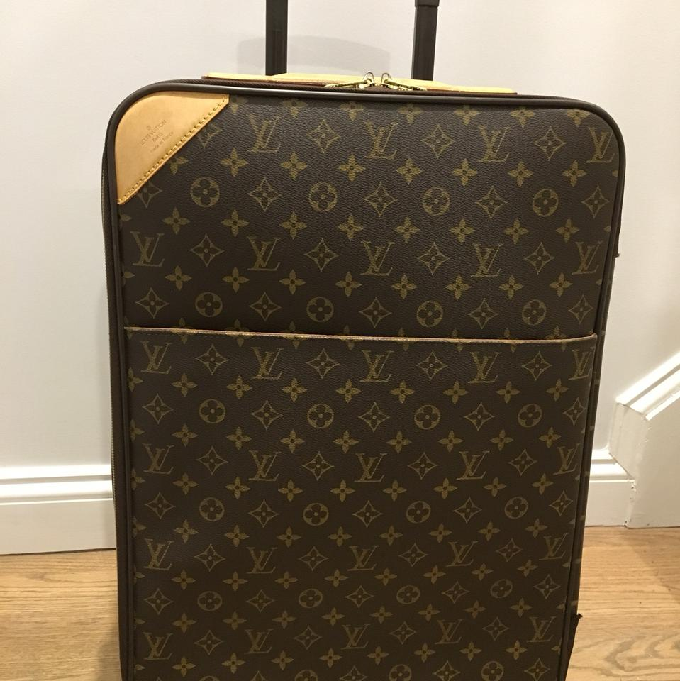9c0d3d826903 Louis Vuitton Pegase 55 Monogram Suitcase Carry On Weekend Travel ...
