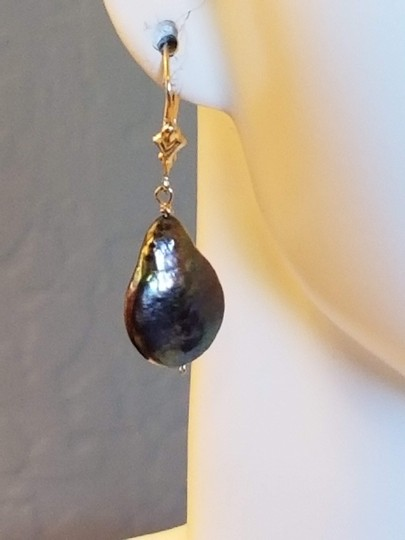 Unknown Freshwater Baroque Pearl Earrings Image 4