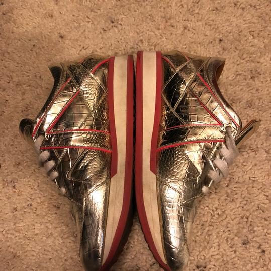 Jimmy Choo Gold Athletic Image 2
