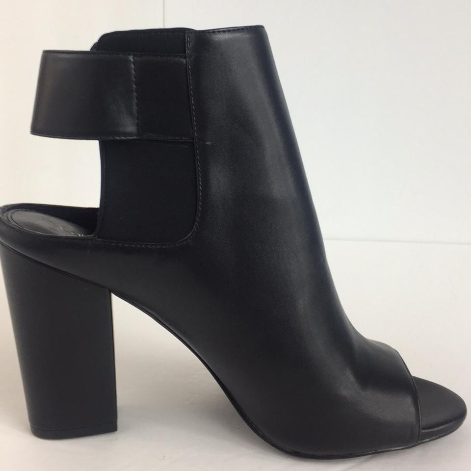 6980867de Calvin Klein Black New Women's Fashion Leather Open Toe Ankle Boots Formal  Shoes Size US 9.5 Regular (M, B) - Tradesy