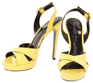 Barbara Bui Yellow Pumps