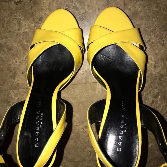 Barbara Bui Yellow Pumps Image 5