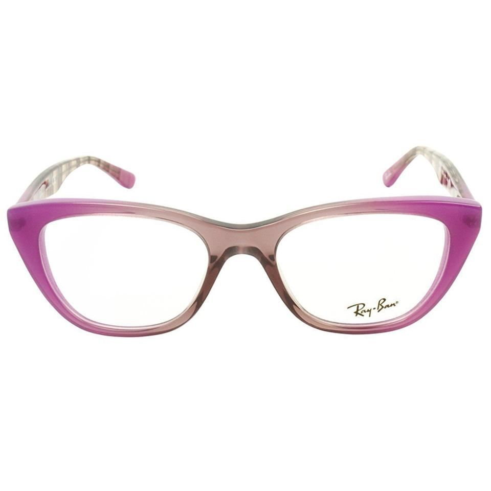 3aec0bb604 Ray-Ban Grad Antique Pink On Pink Frame   Demo Lens Women Cat Eye Eyeglasses