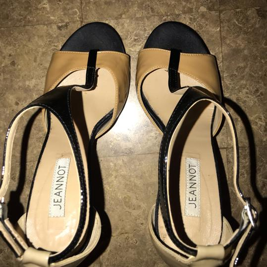 Jeannot black, tan & taupe Formal Image 1