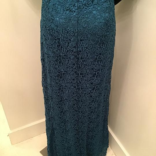 Jade Couture Teal Lace/Malay Satin K168065 Formal Bridesmaid/Mob Dress Size 10 (M) Image 7