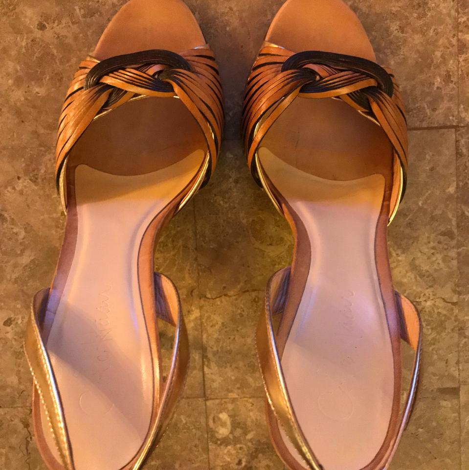 a9a184c79399 Cole Haan Tan   Rose Gold Nike Air Sandals Pumps Size US 7 Regular ...