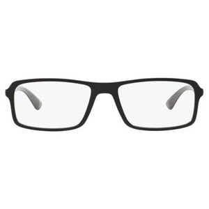 f9bb5a98988 Ray-Ban Unisex Rectangular Eyeglasses. Ray-Ban Black Frame   Demo Lens ...
