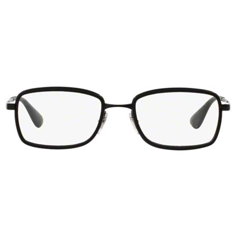 e17223482c1 Ray-Ban Black Frame   Demo Lens Women Square Eyeglasses - Tradesy