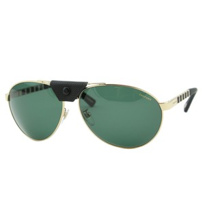 Chopard New SCH-B33 Men Metal & Rubber Nosepiece Polarized Aviator Sunglasses