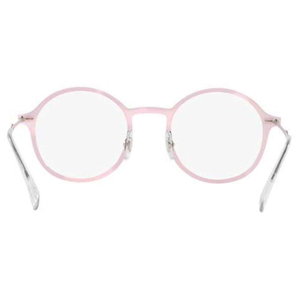 d2705ced7c0d7 Ray-Ban Pink Frame   Demo Lens Unisex Round Eyeglasses - Tradesy