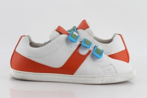 """Fendi Multicolor Touch-fastening """"Think"""" Sneakers Shoes"""