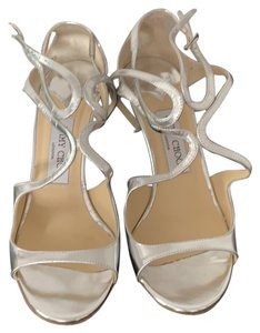 Jimmy Choo Sandal Strappy Silver Pumps