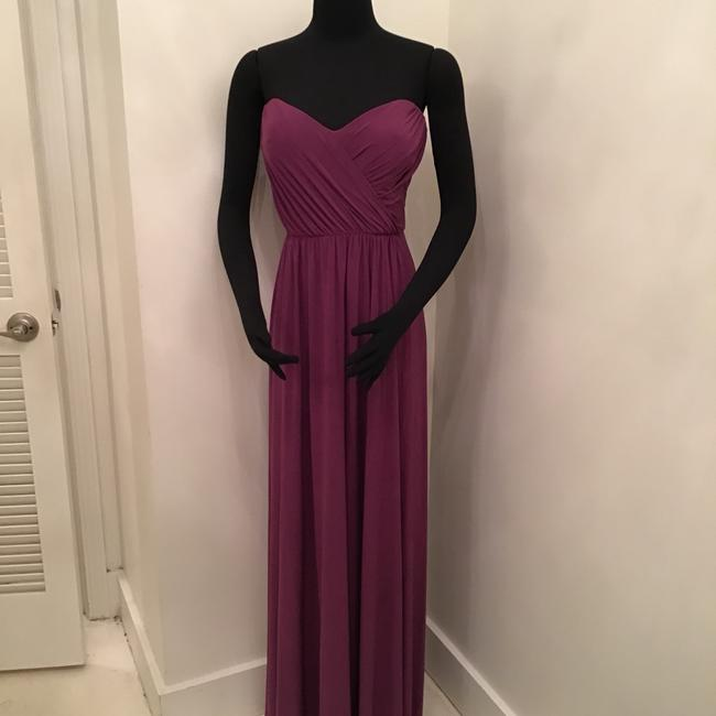 Item - African Violet Maracaine Jersey Jy503 Formal Bridesmaid/Mob Dress Size 12 (L)