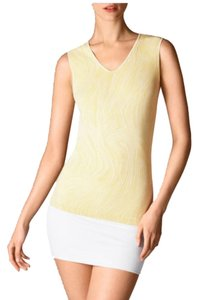 Wolford Clothing Summer Stretchy Marble Top Primrose