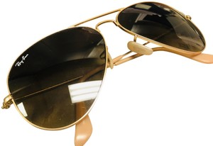 Ray-Ban Gold matter Aviators