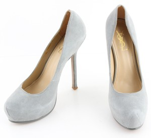 Saint Laurent gray Pumps