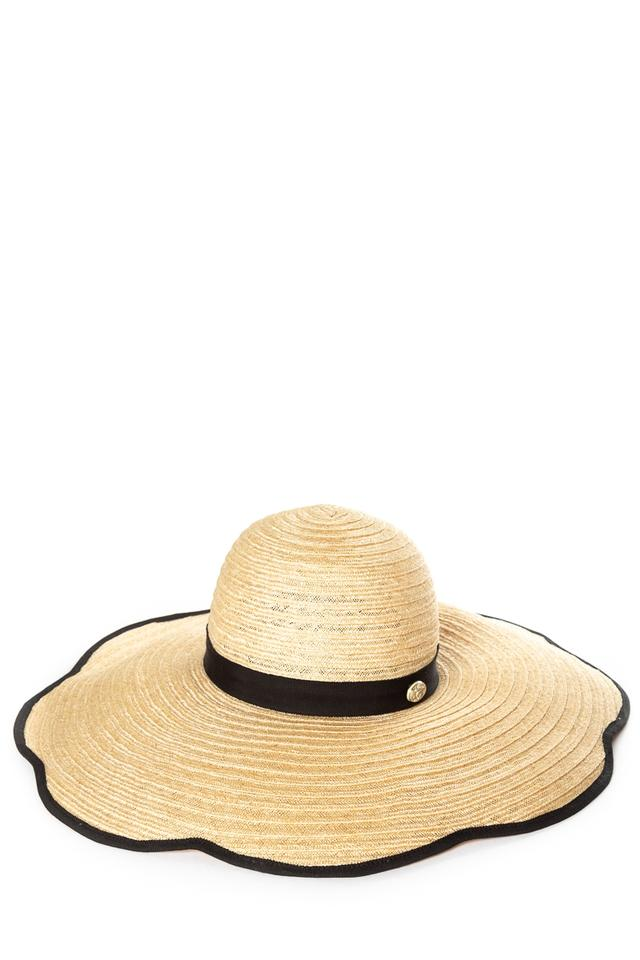 f6bdece3db2 Chanel Natural Woven Straw Wide Brim Sun Hat - Tradesy