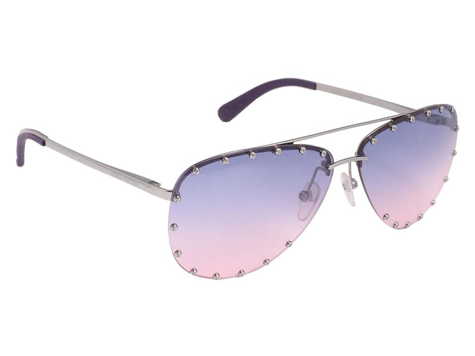 991c5ee5dbef6 Louis Vuitton Purple The Party Sunglasses - Tradesy