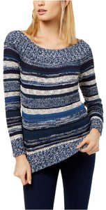 INC International Concepts Off Shoulder Berry Sweater