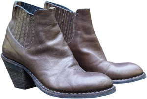 Fiorentini + Baker Casual Heels Leather Style brown Boots