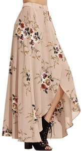 SheIn Maxi Skirt Multiple, apricot