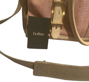 Botkier Satchel in mauve and cream
