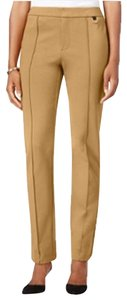 Nordstrom Chic Date Professional Straight Pants camel light brown