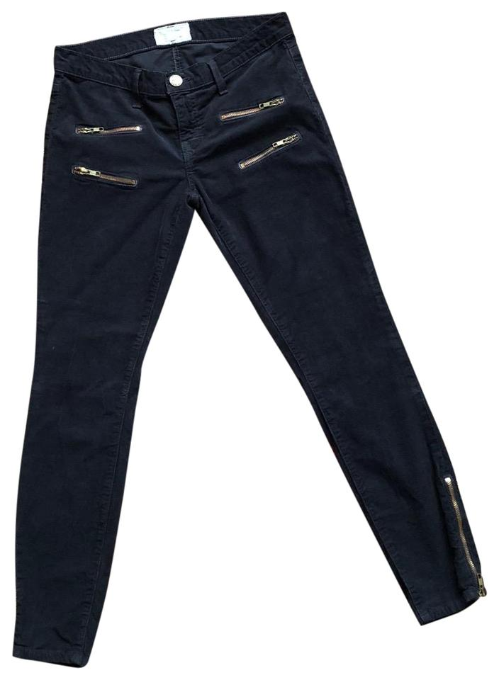 great quality entire collection new products Current/Elliott Gray Current/Elliott Multi Zip Stiletto Corduroy Skinny  Jeans Size 27 (4, S) 75% off retail