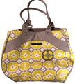 Petunia Pickle Bottom Yellow Gray Diaper Bag