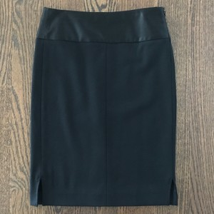 Theory Black Rokita S Pencil Skirt