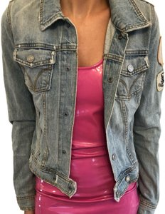 Juicy Couture blue Womens Jean Jacket