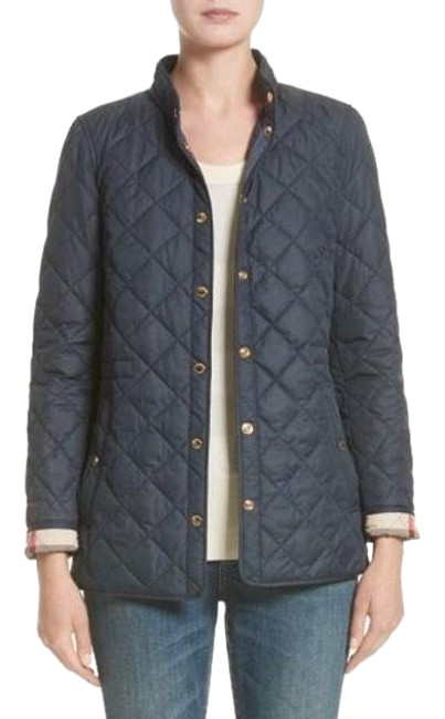 Item - Blue New Pensham Quilted Coat M Jacket Size 8 (M)