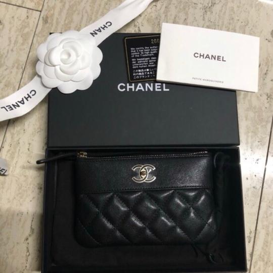 Chanel Mademoiselle Mini Pouch Card Case Wallet Image 1