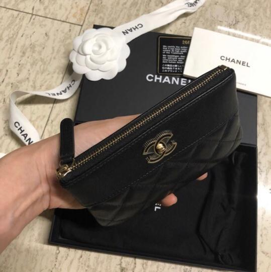 Chanel Mademoiselle Mini Pouch Card Case Wallet Image 2