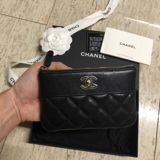 Chanel Mademoiselle Mini Pouch Card Case Wallet Image 3