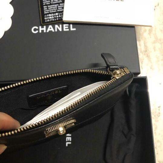 Chanel Mademoiselle Mini Pouch Card Case Wallet Image 4