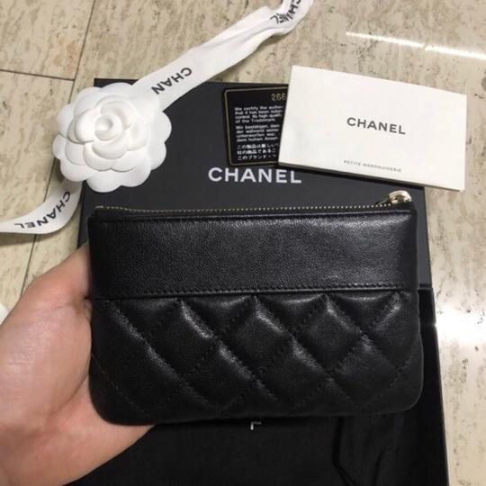 Chanel Mademoiselle Mini Pouch Card Case Wallet Image 5