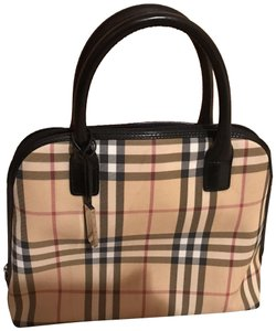 Beige Burberry Satchels - Up to 90% off at Tradesy d36947b6f9430